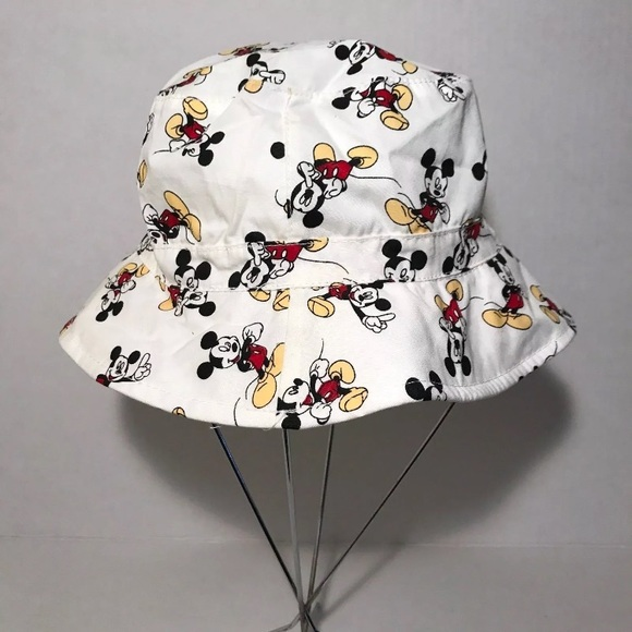 """29e24169b H&M MICKEY MOUSE BUCKET HAT TODDLER / BABY """"NWT"""" NWT"""